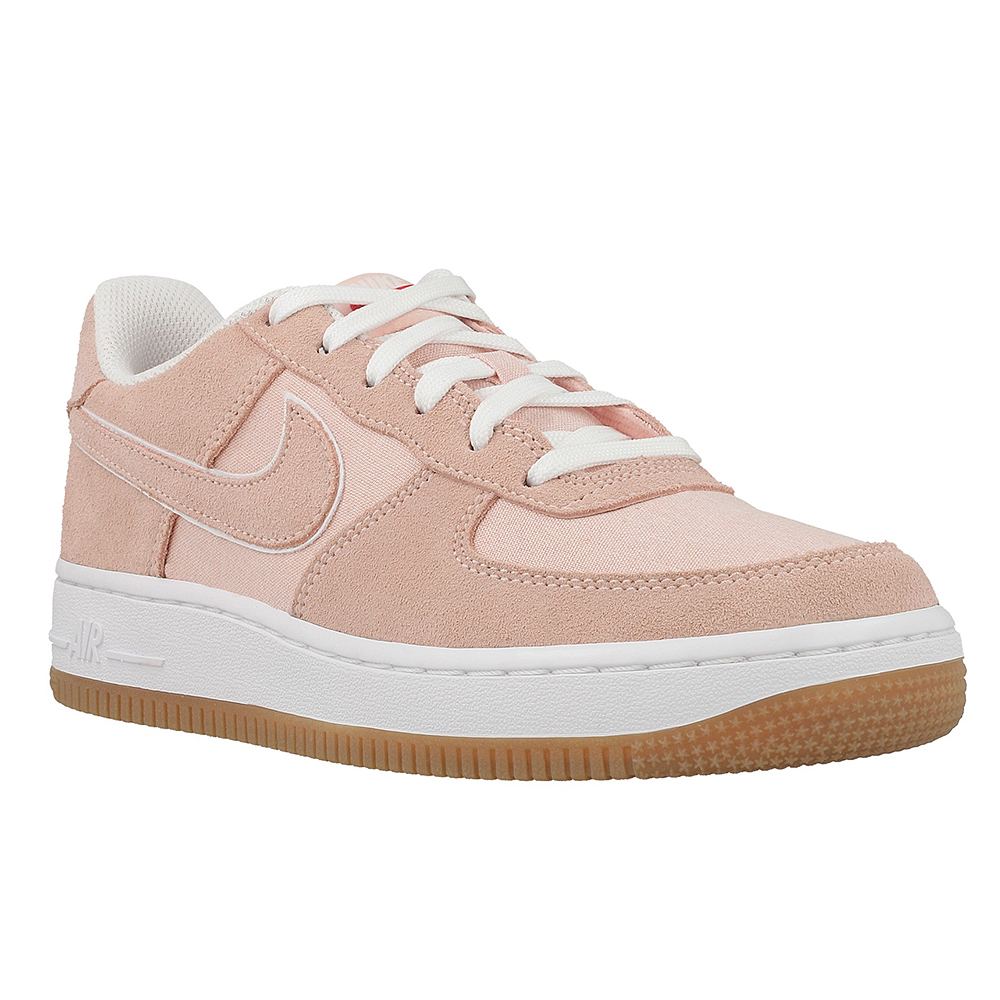 nike air force 1 damskie zamsz