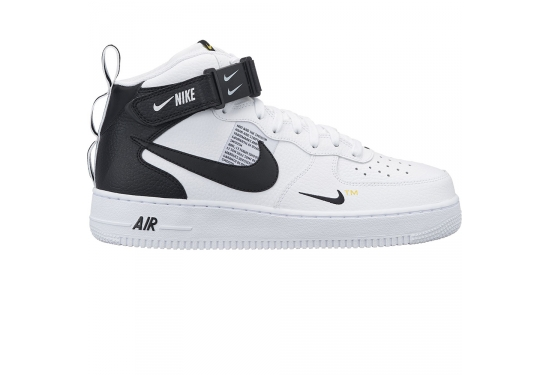 newest 39157 44d6a ... magnifying glass Nike Air Force 1 MID  07 LV8 ...
