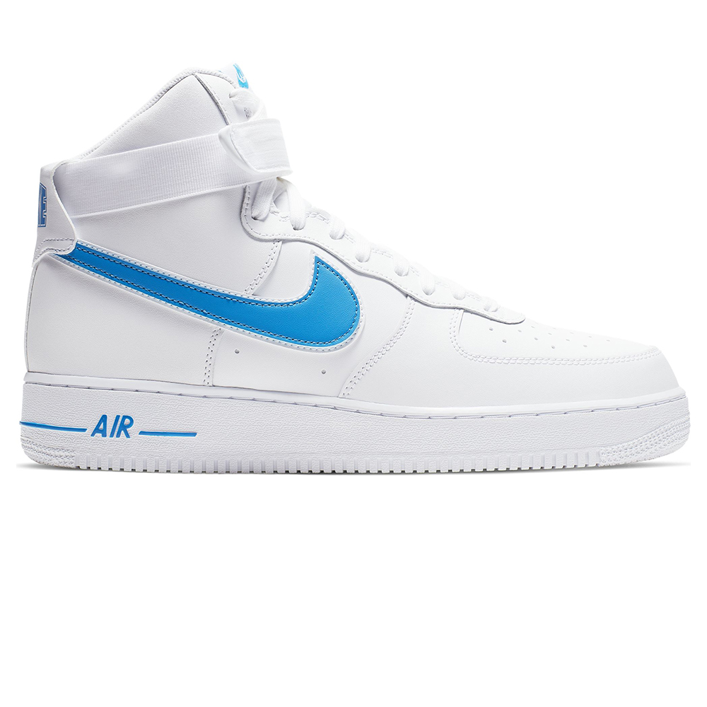 Nike Air Force 1 High '07 3 AT4141 102 | Biały ⋆ ButyMarkowe.pl