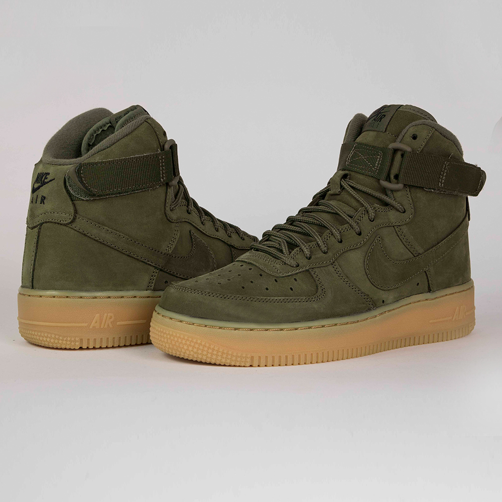 Nike Air Force 1 High WB Gs 922066 202 | Zielony