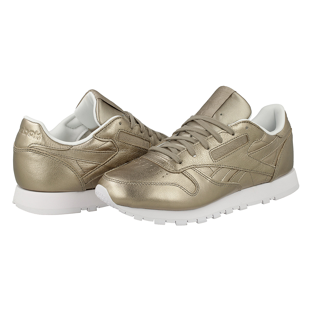 Reebok Classic Leather Cl Lthr Melted Metal BS7898 | Złoty